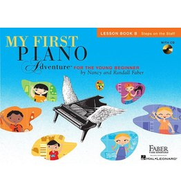 Hal Leonard - My First Piano Adventures (for the young beginner), Lesson Book B
