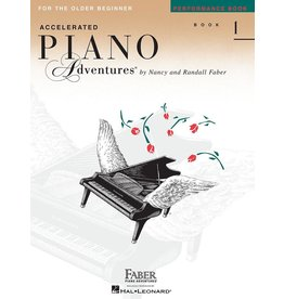 Hal Leonard - Piano Adventures For The Older Beginnner, Book 1, Performance