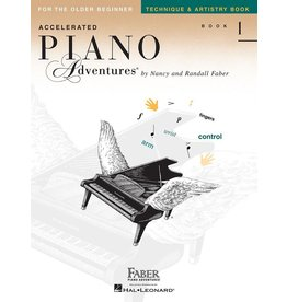 Hal Leonard - Piano Adventures For The Older Beginnner, Book 1, Technique & Artistry