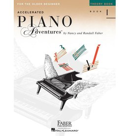 Hal Leonard - Piano Adventures For The Older Beginnner, Book 1, Theory