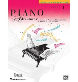 Hal Leonard - Piano Adventures Level 1, Popular Repertoire Book