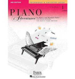 Hal Leonard - Piano Adventures Level 1, Technique & Artistry Book