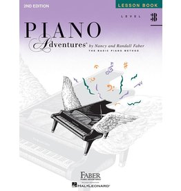 Hal Leonard - Piano Adventures Level 3B Lesson Book