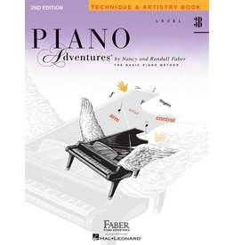 Hal Leonard - Piano Adventures Level 3B Technique & Artistry Book
