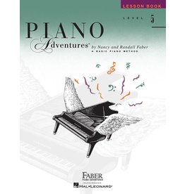 Hal Leonard - Piano Adventures Level 5 Lesson Book