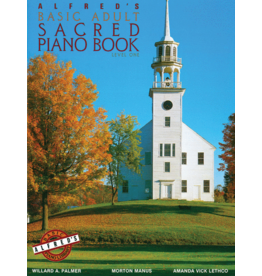 Alfred's Publishing - Basic Adult Piano Course: Sacred Book 1
