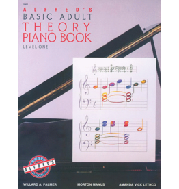 Alfred's Publishing - Basic Adult Piano Course: Theory Book 1