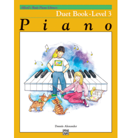 Alfred's Publishing - Basic Piano Course: Duet Book 3