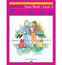 Alfred's Publishing - Basic Piano Course: Duet Book 4