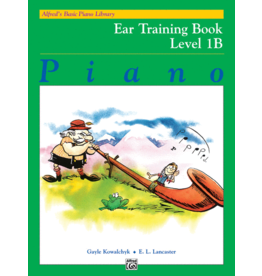 Alfred's Publishing - Basic Piano Course: Ear Training Book 1B