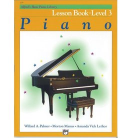 Alfred's Publishing - Basic Piano Course: Lesson Book 3