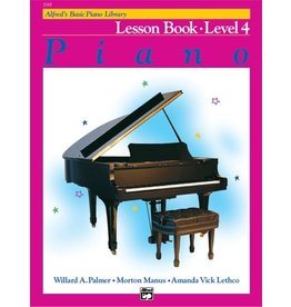 Alfred's Publishing - Basic Piano Course: Lesson Book 4