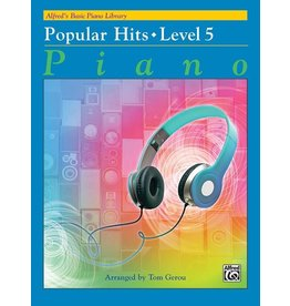 Alfred's Publishing - Basic Piano Course: Popular Hits 5
