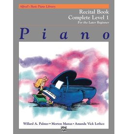 Alfred's Publishing - Basic Piano Course: Recital Book Complete 1 (1A/1B)