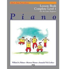 Alfred's Publishing - Basic Piano Course: Technic Book Complete 1 (1A/1B)