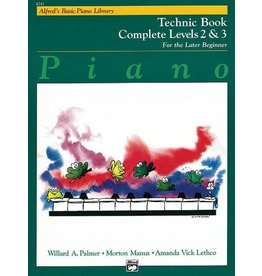 Alfred's Publishing - Basic Piano Course: Technic Book Complete 2 & 3