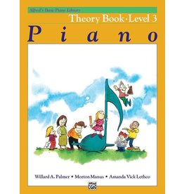 Alfred's Publishing - Basic Piano Course: Theory Book 3