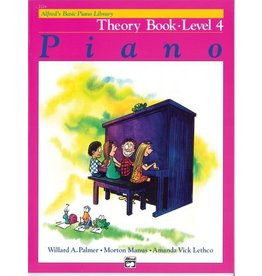 Alfred's Publishing - Basic Piano Course: Theory Book 4