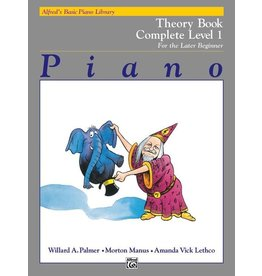 Alfred's Publishing - Basic Piano Course: Theory Book Complete 1 (1A/1B)
