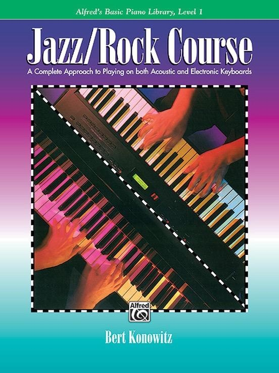 Alfred's Publishing - Basic Piano Library:   Jazz/Rock Course, Level 1