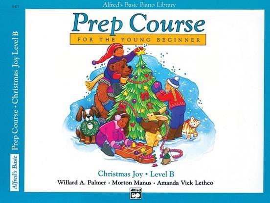 Alfred's Publishing - Basic Piano Prep Course: Christmas Joy, B