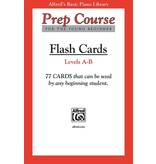 Alfred's Publishing - Basic Piano Prep Course: Flash Cards, Levels A & B