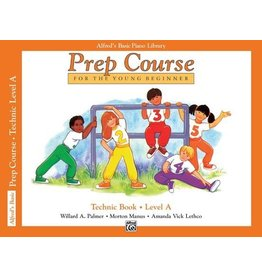 Alfred's Publishing - Basic Piano Prep Course: Technic Book A