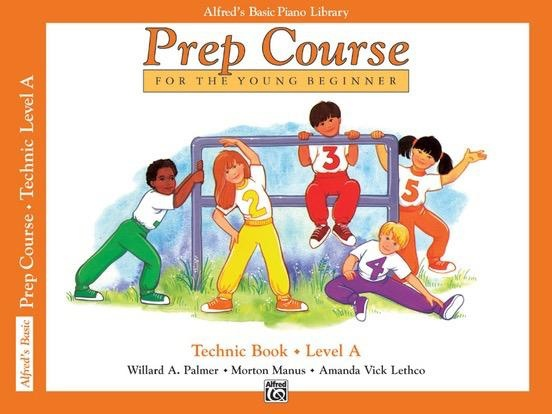 Alfred's Publishing - Basic Piano Prep Course: Technic Book A