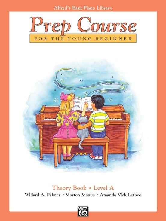 Alfred's Publishing - Basic Piano Prep Course: Theory Book A