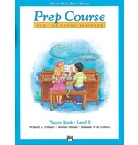 Alfred's Publishing - Basic Piano Prep Course: Theory Book B