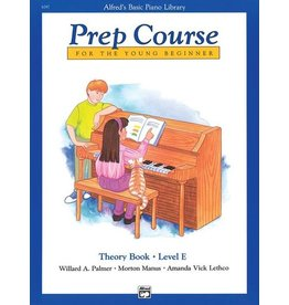 Alfred's Publishing - Basic Piano Prep Course: Theory Book E