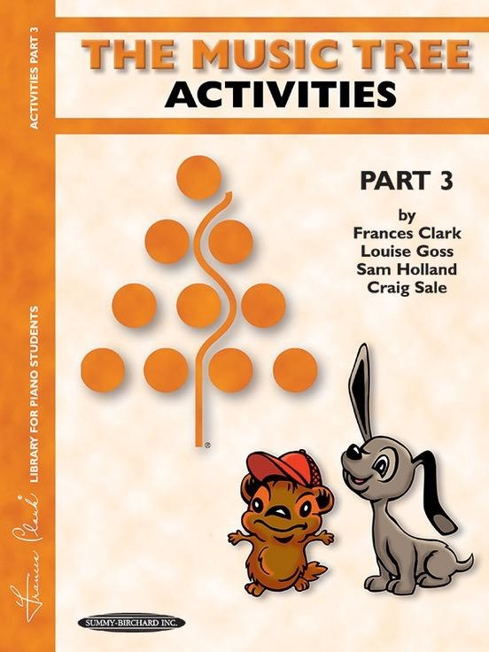 Alfred's Publishing - The Music Tree, Part 3 (Activities)