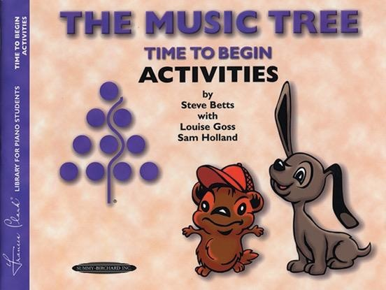 Alfred's Publishing - The Music Tree, Time to Begin, Activities