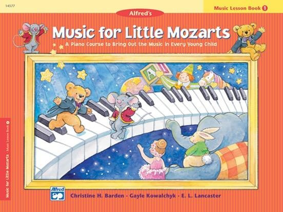 Alfred's Publishing -  Music For Little Mozarts, Lesson Book 1