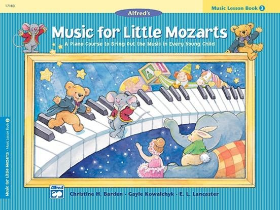 Alfred's Publishing - Music For Little Mozarts, Lesson Book 3