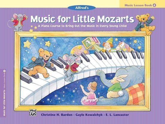Alfred's Publishing - Music For Little Mozarts, Lesson Book 4