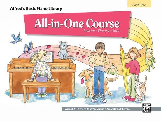 Alfred's Publishing - Basic All-in-One Course for Children, Book 1