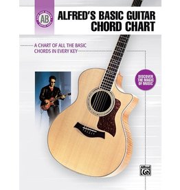 Alfred's Publishing - Basic Guitar Chord Chart