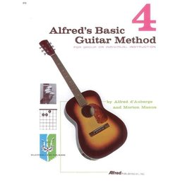 Alfred's Publishing - Basic Guitar Method, Book 4