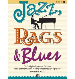 Alfred's Publishing - Jazz, Rags & Blues, Book 1