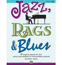 Alfred's Publishing - Jazz, Rags & Blues, Book 2