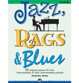 Alfred's Publishing - Jazz, Rags & Blues, Book 3