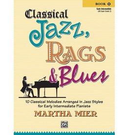 Alfred's Publishing Alfred's - Classical Jazz, Rags & Blues, Book 1