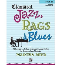 Alfred's Publishing Alfred's - Classical Jazz, Rags & Blues, Book 2