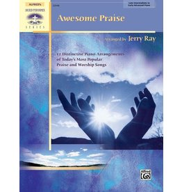 Alfred's Publishing - Sacred Performer, Awesome Praise, Late Intermediate/Early Advanced Piano