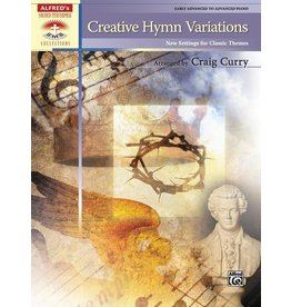 Alfred's Publishing - Sacred Performer, Creative Hymn Variations, Advanced