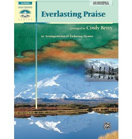 Alfred's Publishing - Sacred Performer, Everlasting Praise, Early Advanced/Late Intermediate