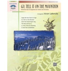 Alfred's Publishing - Sacred Performer, Go Tell It On The Mountain, Advanced Duet Christmas