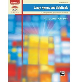 Alfred's Publishing - Sacred Performer, Jazzy Hymns and Spirituals, Advanced