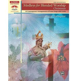Alfred's Publishing - Sacred Performer, Medleys for Blended Worship Christmas (Late Intermediate)